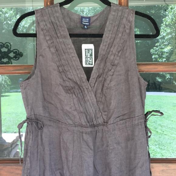 c1982922e9 NWT Saks Fifth Avenue 100% linen dress